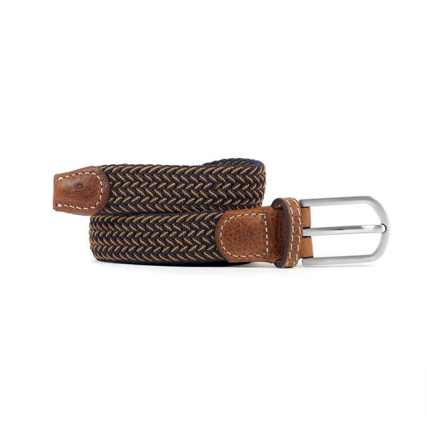 Slim Braided Belt - The Havana