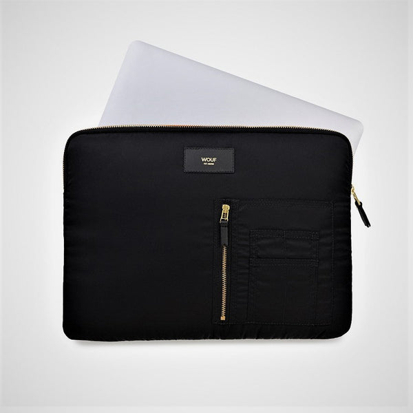 Black Bomber Laptop Sleeve 13inch
