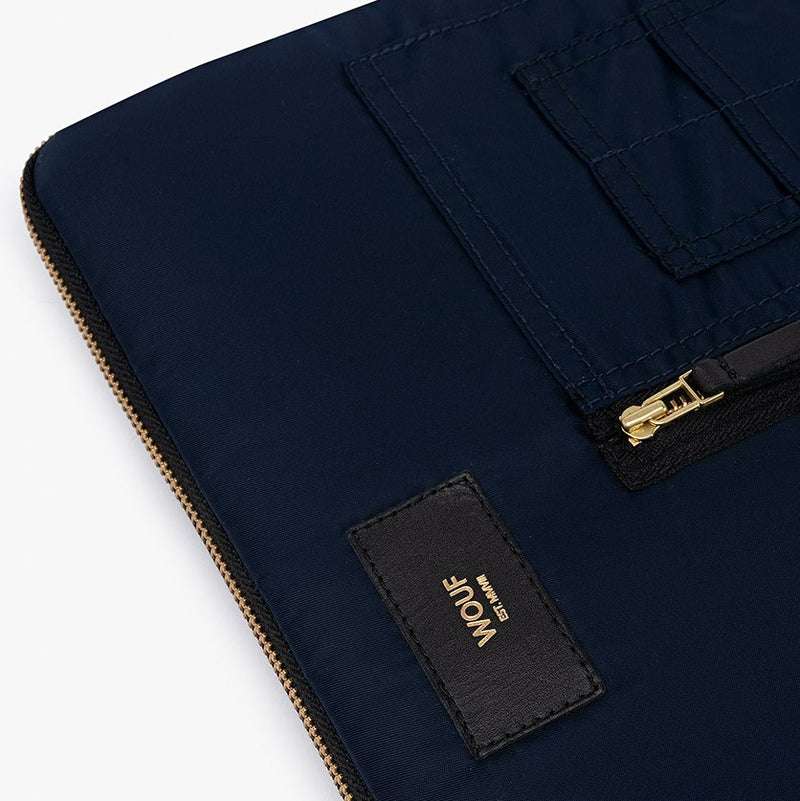 Navy Bomber Laptop Sleeve 13inch