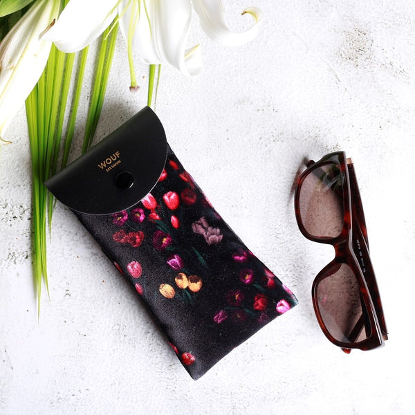 Tulips Sunglasses Case