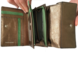 Highway Cora - The Highway Wallet | Glossy Green