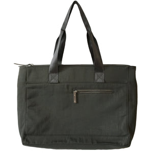 Devin - Large Tote w/ Layered Closure | Stone