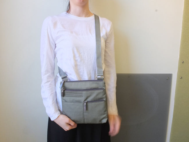 Pete - New Mini Multi-Pocket | Fern Green & Gray