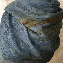 Load image into Gallery viewer, Handmade Silk Scarf - Lagoon