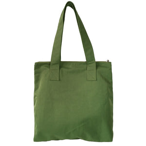 Mayka - Large Shoulder Bag Tote w/o Lining | Green