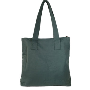 Mayka - Large Shoulder Bag Tote w/o Lining | Steel Blue