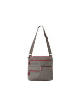 Nico - Small Multi-Pocket | Stone & Red