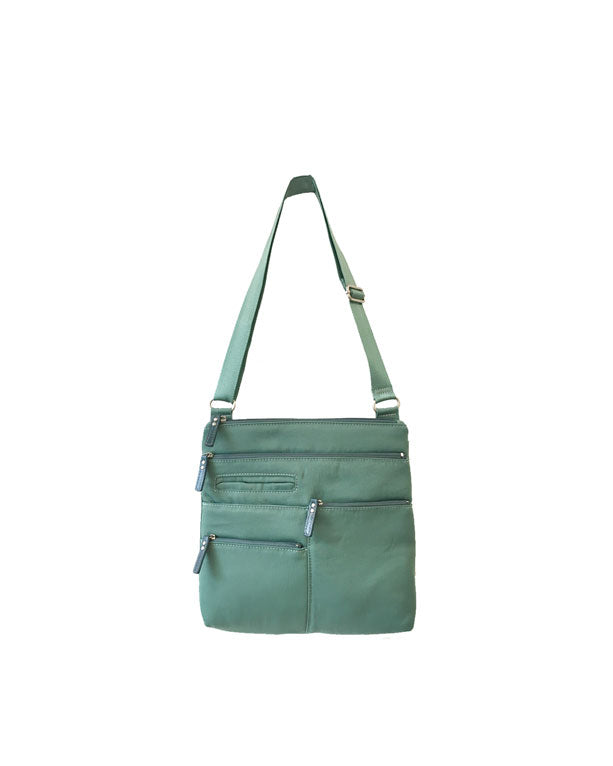 Highway Nico - Small Multi-Pocket | Seafoam & Azure