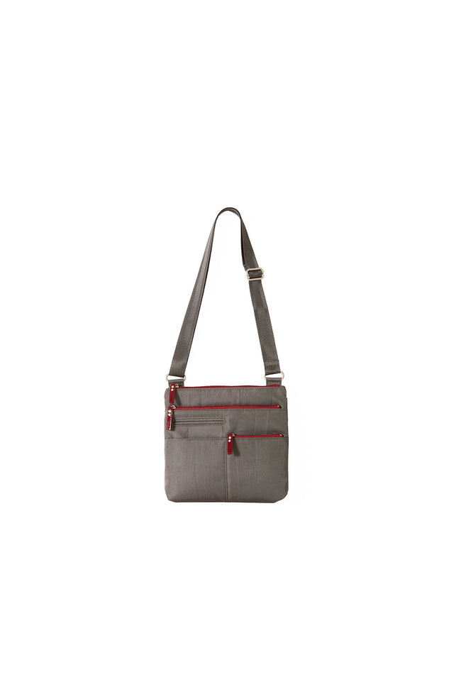 Pete - New Mini Multi-Pocket | Stone & Red