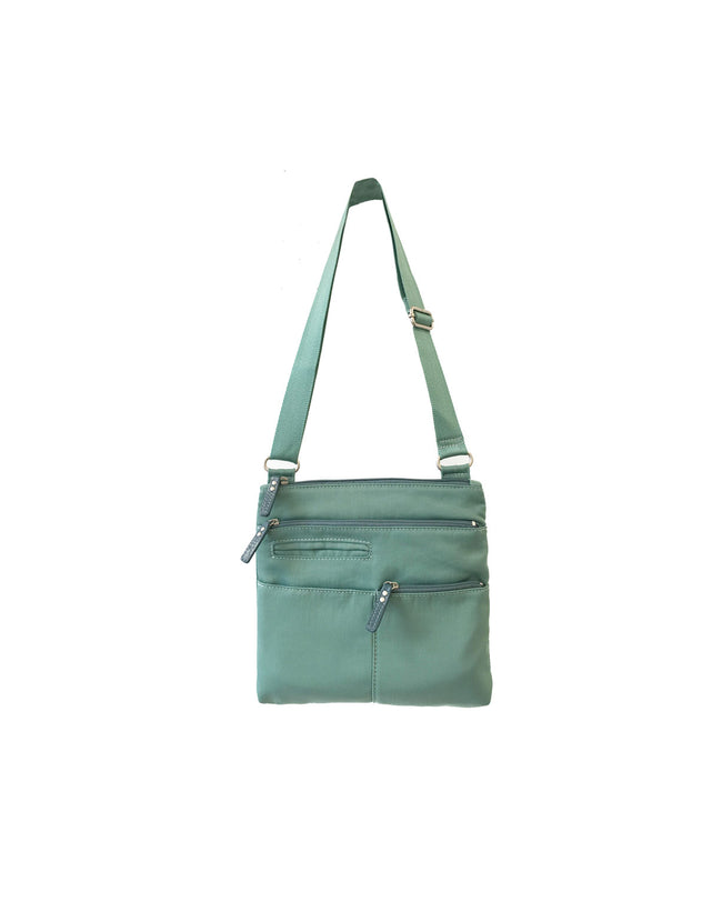 Pete - New Mini Multi-Pocket | Seafoam & Azure