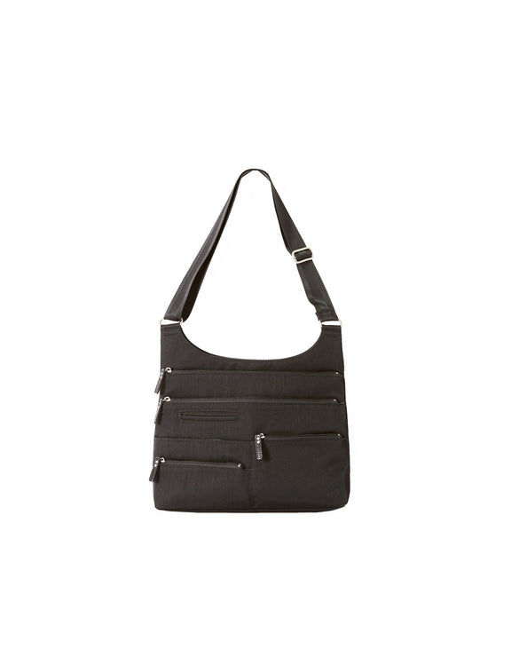 Teela - Medium Multi-Pocket Bag | Black