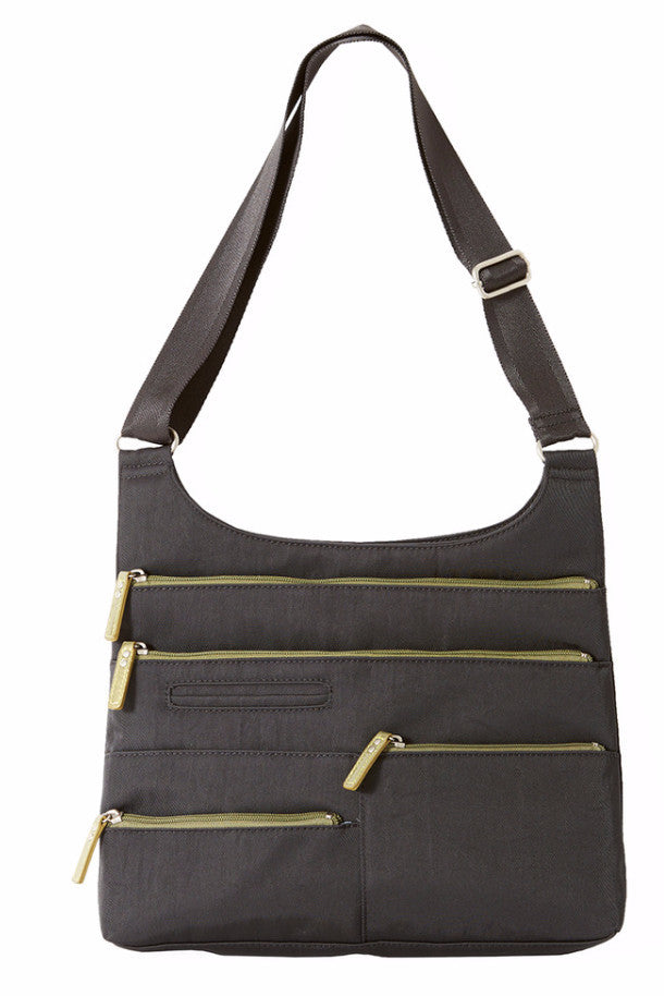 Teela - Medium Multi-Pocket Bag | Ink & Olive