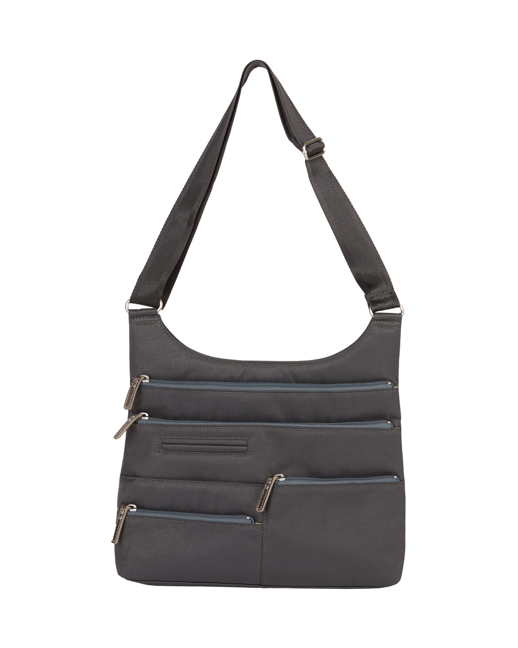 Highway Teela Medium Multi - Pocket bag / Rock grey