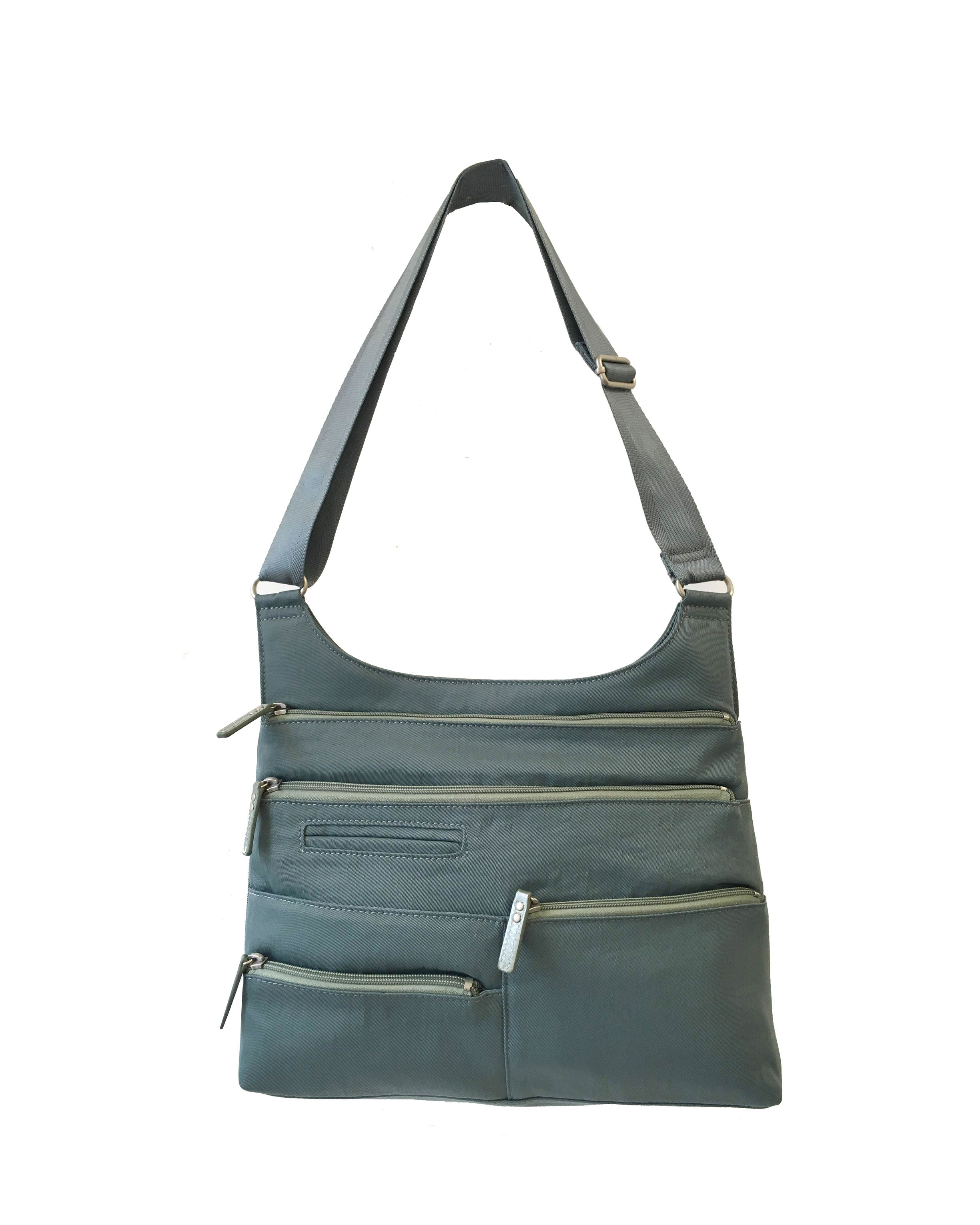 Highway Teela - Medium Multi-Pocket Bag | Steel Blue