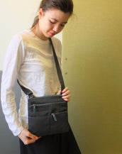 Pete - New Mini Multi-Pocket | Midnight Gray & Azure