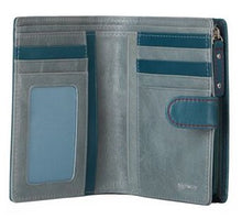 Load image into Gallery viewer, Highway Collette-L | The Collette Wallet | Azure