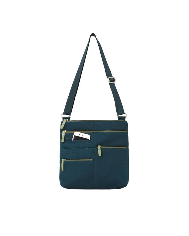 Nico - Small Multi-Pocket | Sailor Blue & Green