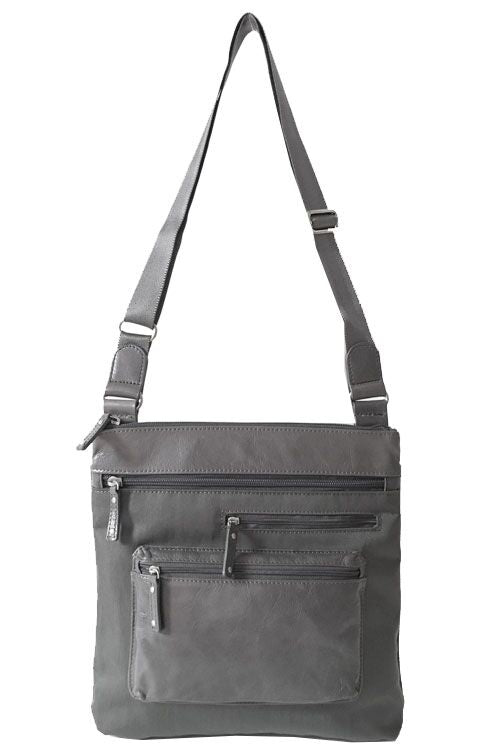 Highway Alice - Medium MIX with Front Pocket | Stone