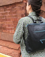 Tim - New Slim Backpack | Midnight Gray