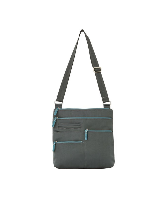 Nico - Small Multi-Pocket | Midnight Gray & Azure