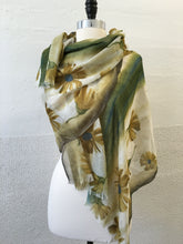Load image into Gallery viewer, Highway Ochre and Flower Scarf