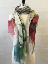 Load image into Gallery viewer, Highway Pink and Gray Flower (L) Scarf