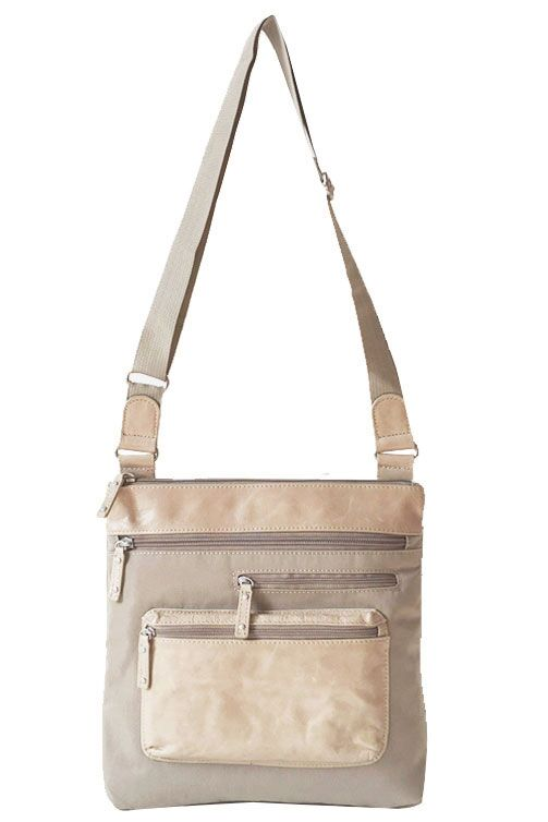 Highway Alice - Medium MIX with Front Pocket | Linen
