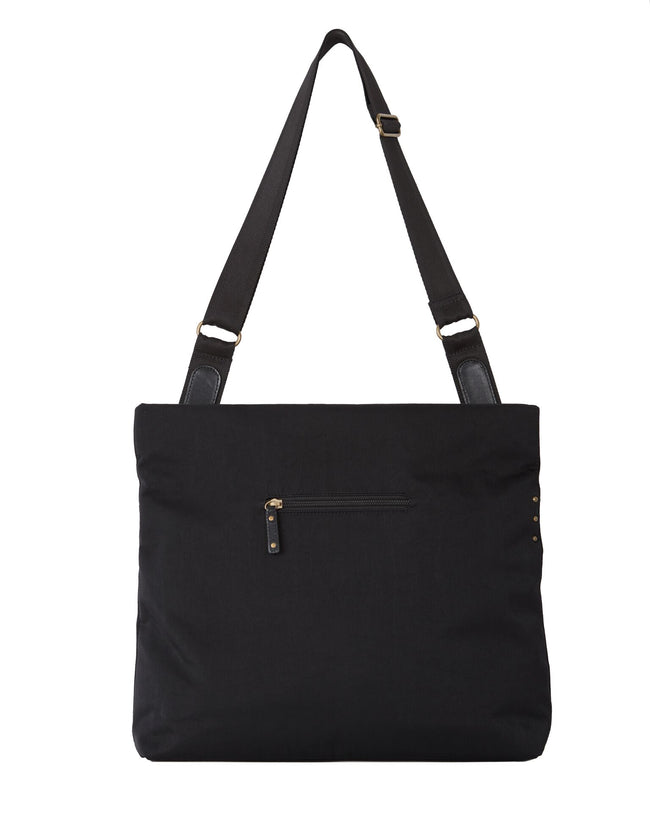 Jaycee - Two-way Messenger Bag | Black