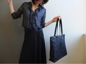 Highway Thea -Tote Bag | Selvedge Denim