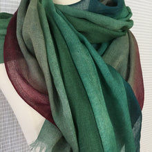 Load image into Gallery viewer, Three Color Stripe Scarf