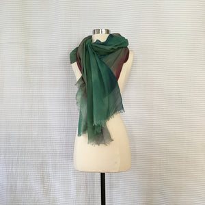 Three Color Stripe Scarf