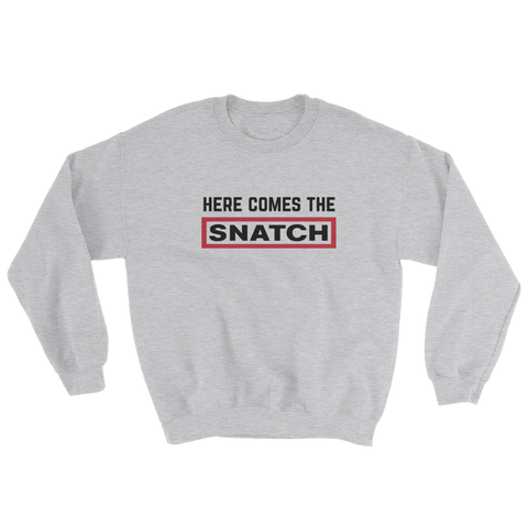 SNATCH SWEAT GREY - nevernorep