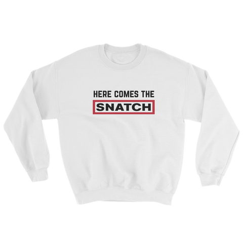 SNATCH SWEAT W WHITE - nevernorep