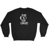 GAMES SWEAT BLACK - nevernorep
