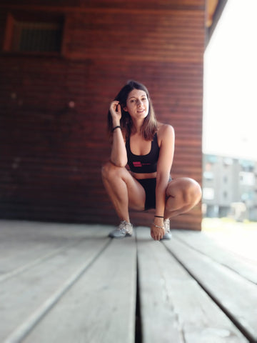 Top CF Cool Woman Nevernorep Crossfit donna