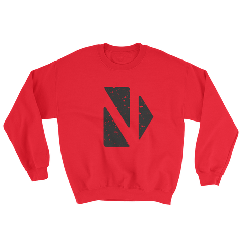 CLASSIC SWEAT RED - nevernorep