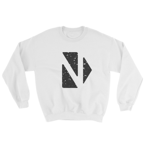 CLASSIC SWEAT WHITE - nevernorep