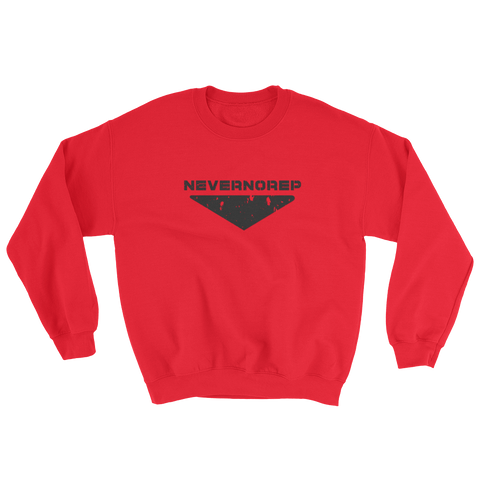 CENTRE SWEAT W RED - nevernorep