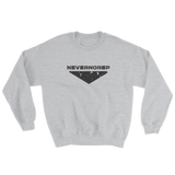 CENTRE SWEAT W GREY - nevernorep