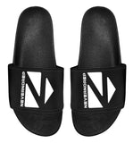 Black Custom Slipper W - nevernorep