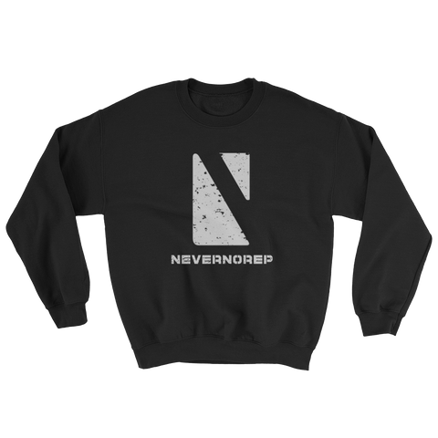 GEOMETRIC  SWEAT BLACK - nevernorep