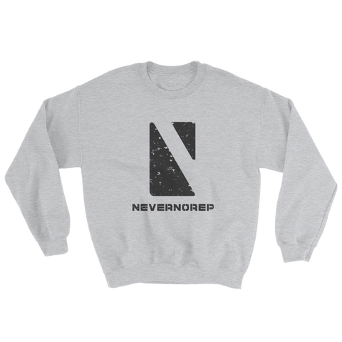 GEOMETRIC SWEAT GREY - nevernorep