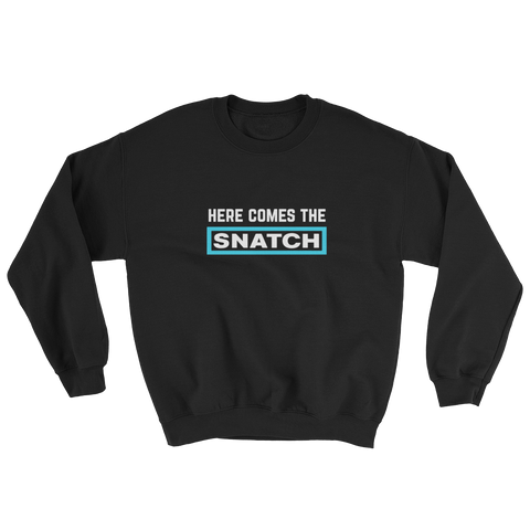 SNATCH SWEAT BLACK/LIGHTBLUE - nevernorep