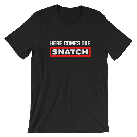 SNATCH BLACK/RED - nevernorep