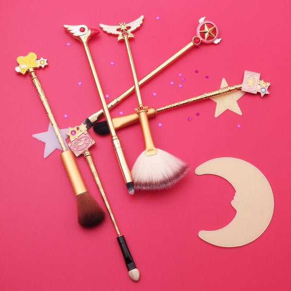 Cardcaptor Sakura Makeup Brush Set at Bijou Blossoms Boutique