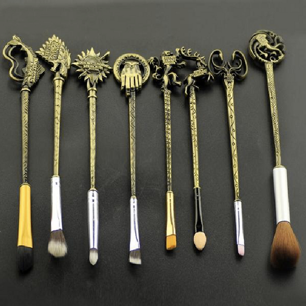 Game of Thrones Brush Set - Bronze, Makeup Tools - Bijou Blossoms