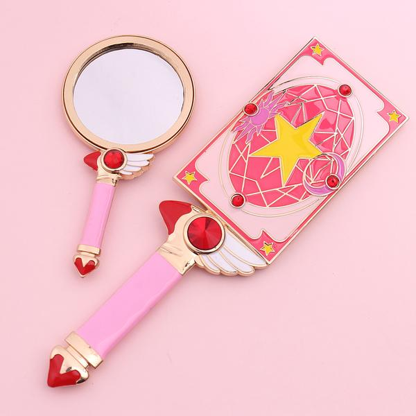 Cardcaptor Sakura Magic Circle Mirror, Makeup Tool - Bijou Blossoms