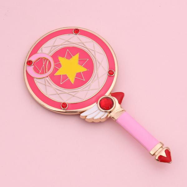 Cardcaptor Sakura Magic Circle Hand Mirror | Kawaii Beauty Tools | Bijou Blossoms