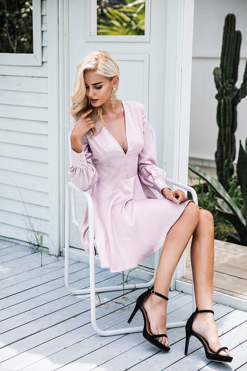 Buy Erica High Street Elegant Mini Dress | Trendy Chic Fashion Clothing Boutique | Bijou Blossoms Boutique