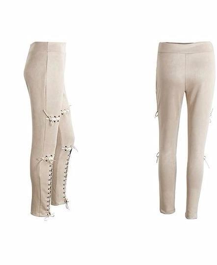 Cyprion Stitch Leggings, Pants - Bijou Blossoms